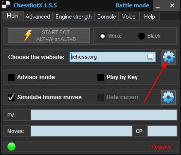 chess cheat bot main window